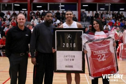 Top photos of No. 3 overall pick Jayson Tatum